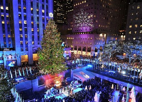 when is the christmas tree lighting nyc the 10 most amazing christmas trees within the d j