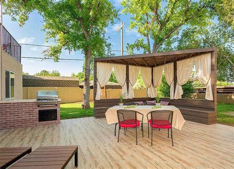 Sichtschutz Terrasse Ideen by Outdoor Patio Curtains Backyard Privacy Ideas 11 Ways