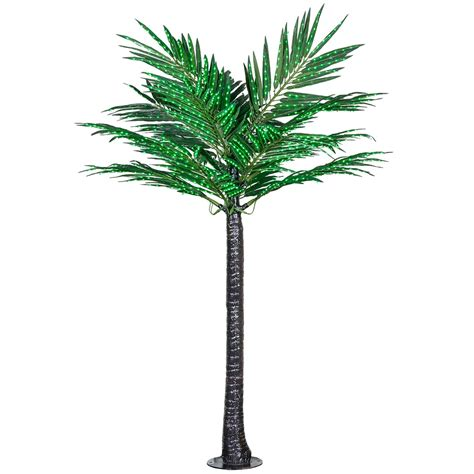led lighted palm trees lighted palm trees 8 led deluxe commercial lighted palm tree