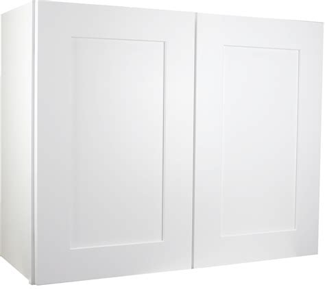 white shaker wall cabinets white shaker wall cabinet 36 quot w x 42 quot h x 12 quot d w3642