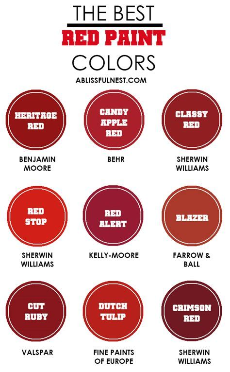 Candy Apple Paint Colors   Numberedtype