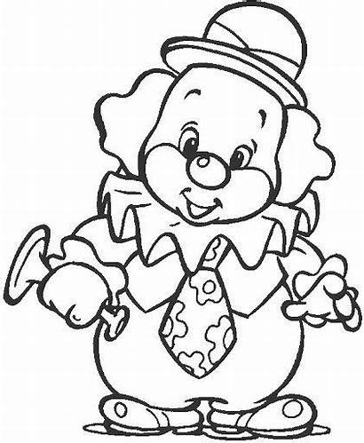 Clown Coloring Pages Printable Getcolorings