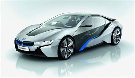 The New Bmw I8 Concept The Gull-wing Challenge To Mclaren