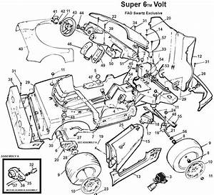 Power Wheels Special Barbie Corvette Parts
