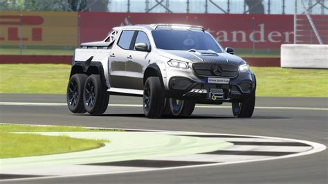 The classic character of the car has been marked with nappa leather, was stated on the page of the exy extreme. Mercedes-Benz X-Class Carlex EXY Monster X 6X6 2019 Top Gear at Silverstone - YouTube