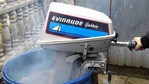Evinrude 8 Hp Outboard Motor 1988r 2 Stroke  Dwusuw