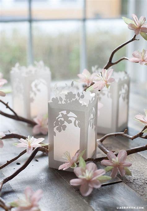 spring  bloom paper lanterns paper lanterns diy paper