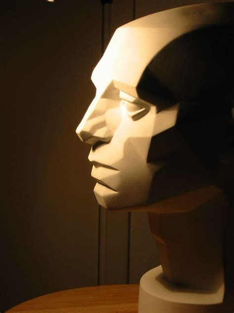 Planes of the Head Asaro Head   This is a sculpture ...