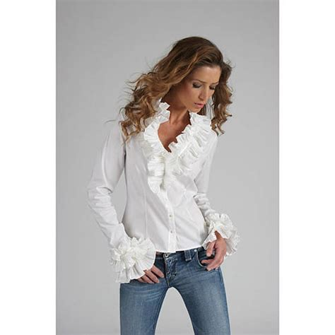 ruffled white blouse white blouse with ruffled cuffs silk blouses