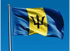 National Flag Of Barbados 123Countriescom