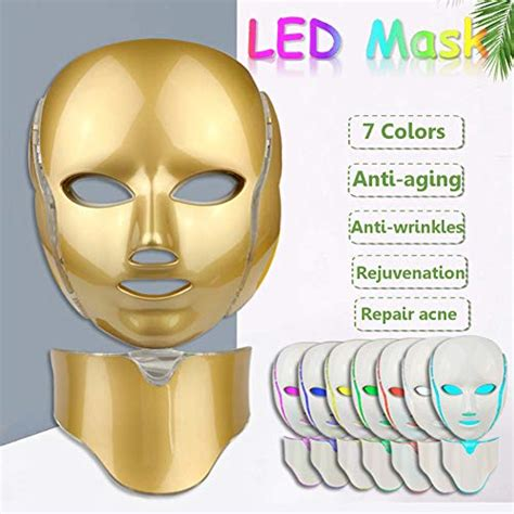 7 LED Light Therapy PDT Mask Acne Treatments Activate