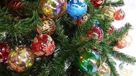 varias ideas para decorar arbol de navidad con bolas 2015