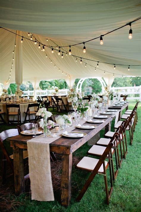 Rustic Tented Historic Cedarwood Wedding Tent