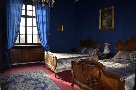 chambre bleu 1st floor bedrooms château de la roquette
