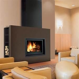 Poele A Bois Moderne : cheminee poele feu chemin es pinterest chemin es ~ Dailycaller-alerts.com Idées de Décoration