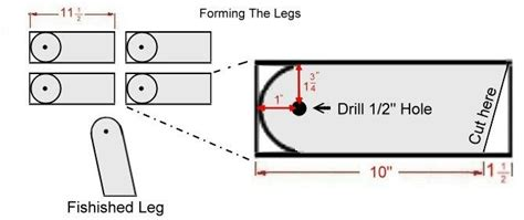 cornhole board legs   love pinterest cornhole