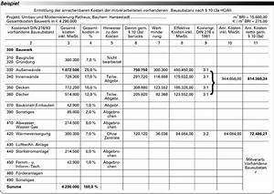 Honorar Berechnen : mitverarbeitete vorhandene bausubstanz berechnungsschema f r ihr honorar ~ Themetempest.com Abrechnung