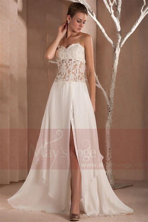 robe chic mariage robe soirée mariage chic maysange