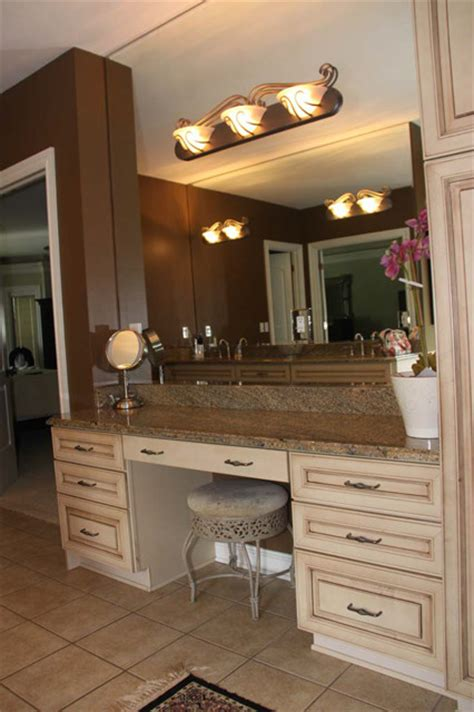 bathroom vanity with makeup counter 301 moved permanently