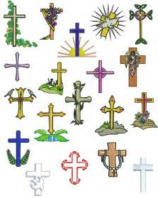 Free Religious Cross Embroidery Designs
