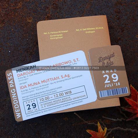 mp  undangan softcover passport cetak undangan