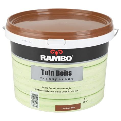 rambo tuinbeits  licht bruin action pinterest