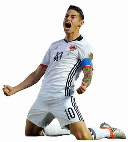 James Rodriguez Render Footyrenders Colombia