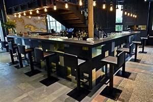 Bar Exterieur Design : bar cocktail terrasse exterieur lyon 7 ~ Melissatoandfro.com Idées de Décoration
