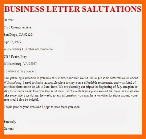 Cover Letter For Hr Professional Business Letter Salutation Best Letter Sle Free