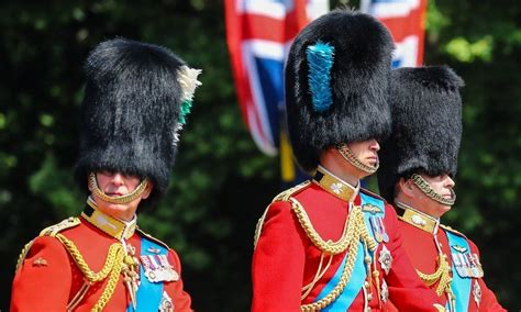 Trooping the Colour 2018 in photos: Meghan Markle's debut ...