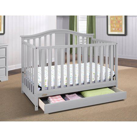baby cribs with drawers underneath graco solano 4 in 1 convertible crib with drawer pebble
