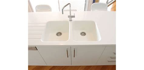 integrated kitchen sink integrated corian kitchen sinks from casf australia 1896