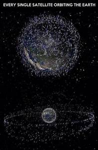 Satellite Maps: Every satellite orbiting Earth in a single ...