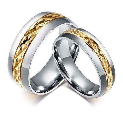 unique wedding rings for him and matching wedding bands jewelry marriage rings 6mm 8mm