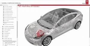 Tesla Model 3  Model S  Model X 2019 Workshop Manual