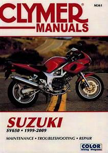 Suzuki Sv650  Sv650s  Sv650sf Repair Manual 1999