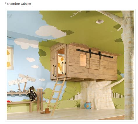 d馗o originale chambre quot chambre d 39 enfant cabane quot