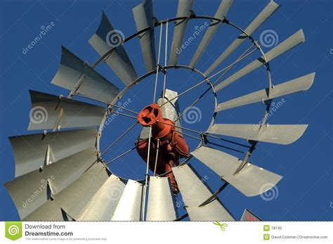 Farm Windmill, Close Up Stock Photo   Image: 18140