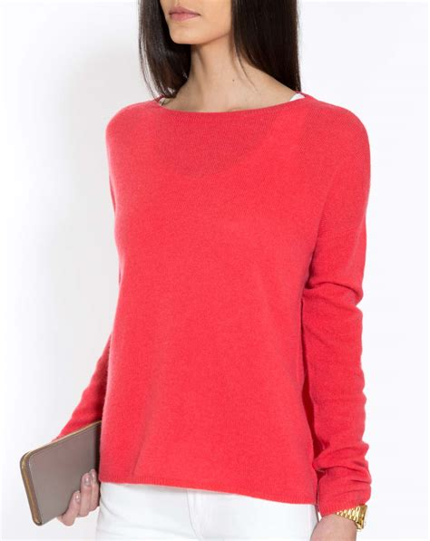 Boat Neck Cashmere Sweater by Oversized Cashmere Boat Neck Sweater Maisoncashmere