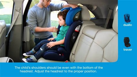 Installation Guide For Joie Traver Car Seat