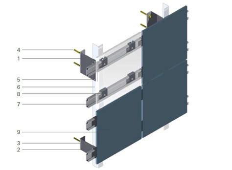 Fassadenunterkonstruktionen System Veco® Aisonlinede