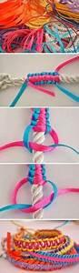 Fabriquer Un String : comment faire fabriquer un bracelet en corde en fin de ~ Zukunftsfamilie.com Idées de Décoration