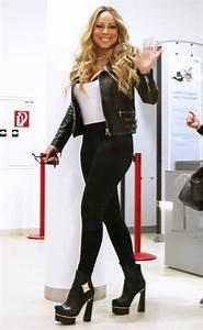 Splurge Mariah Carey39s Vienna Airport Versace Medusa