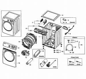 Wiring Diagram  35 Samsung Dryer Parts Diagram