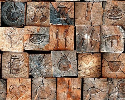 Tapete Holzoptik Verwittert by Papier Peint Imitation Bois Importez De La Chaleur Dans