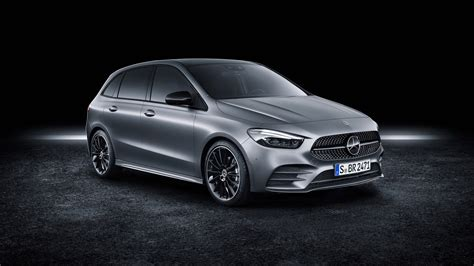 Mercedes B Class 2019 by Mercedes B Klasse Amg Line 2019 4k Wallpaper Hd Car