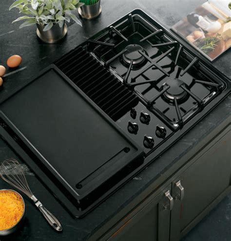 ge profile built  downdraft gas modular cooktop pgpdenbb ge appliances