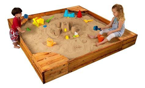 sandbox backyard sand toys outdoor kidkraft toddlers play toddler years box sandboxes olds lid games children diy table playing preschool