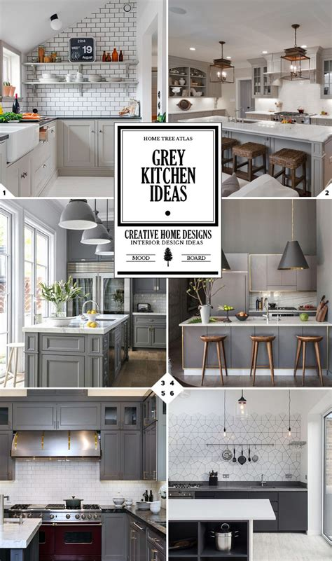 grey kitchen color schemes color guide grey kitchen ideas home tree atlas 4072
