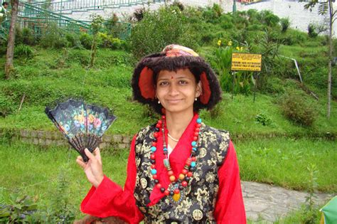 ganesh kharat sikkim women traditional dress